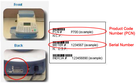 serial number and pcn on the dm 100i-225