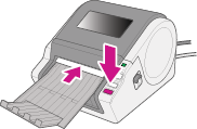 Brother printer feed button