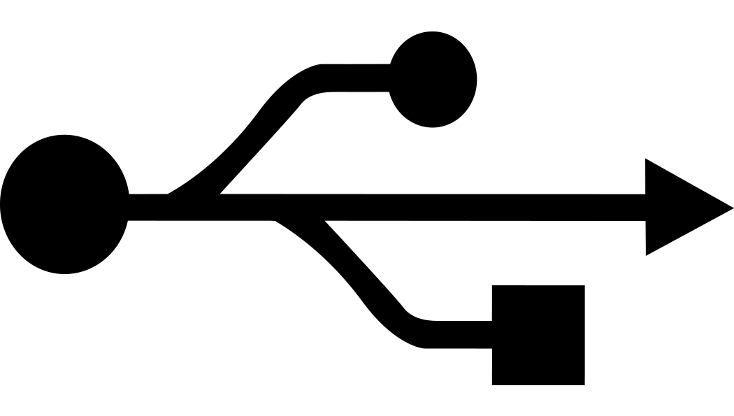 USB connectivity icon