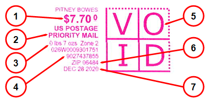 priority mail stamp