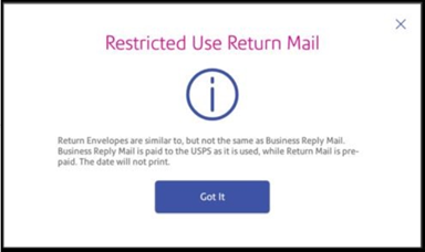 Restricted Use Return Mail