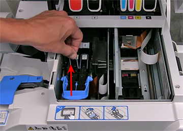 Removing the print head