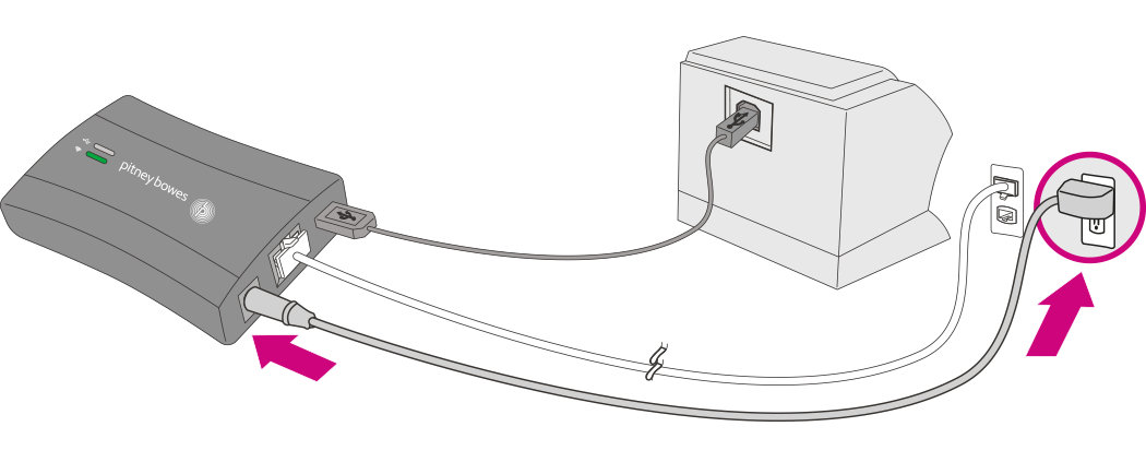 unplug power cord from Smartlink device