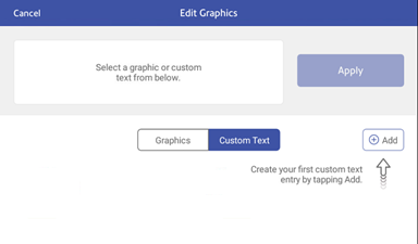 Create a custom text message